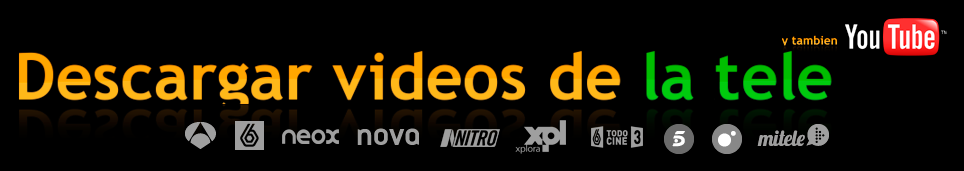 Descargar vídeos de la tele y youtube - Logo